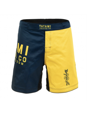 MMA Shorts - Tatami fightwear - 'Supply Co' - Gul/Navy