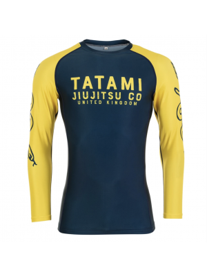 Rash Guard - Tatami fightwear - 'Supply Co' - Sort/Camouflage - Lange ærmer