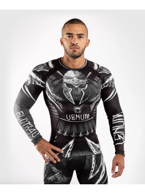Rash Guard - Venum - 'GLDTR 4.0' - Sort/Hvid
