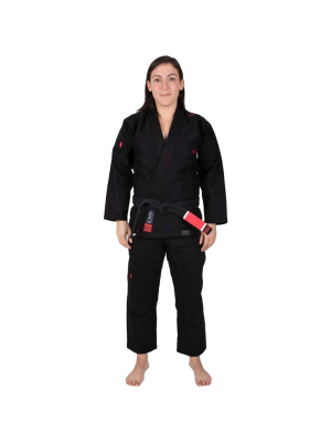Bjj Dragt / Gi - Tatami Fightwear - 'Estilo 6.0' - Sort