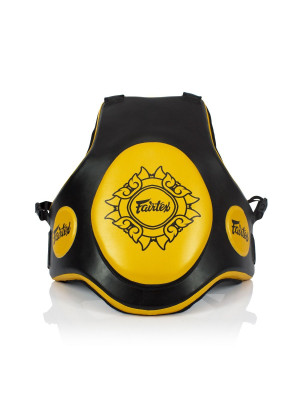 Trainer Vest - Fairtex - 'TV2' - Black/Gold