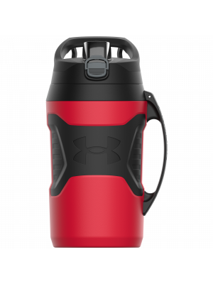 Water bottle - Under Armour - Playmaker Jug - Red - 1,9 l