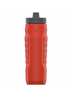 Water bottle - Under Armour - Sideline Squeeze - Red - 950 mm