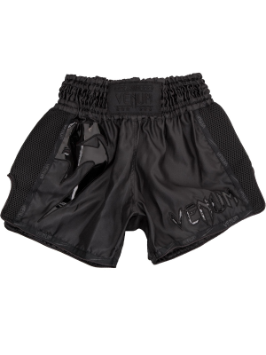 Muay Thai Shorts - Venum - 'Giant' - Sort/Sort