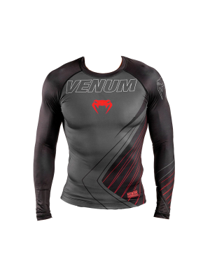 Rash Guard - Venum - 'Contender 5.0' - Black/Red