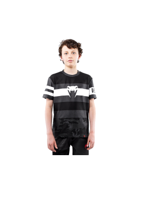 T-Shirt - Venum - 'Bandit' - Kids - Black/Grey