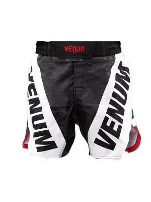 MMA Shorts - Venum - 'Bandit' - Kids -  Black/Grey