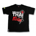 T-shirt - Fairtex - Muay Thai Fighter Svart