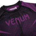 Rashguard - Venum NoGi 2.0 Rashguard - Long Sleeves - Black/Purple