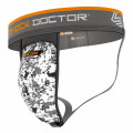 Shock Doctor Supporter med AirCore Flexible Cup - White